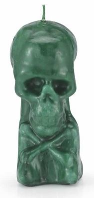 Skull Image Candles