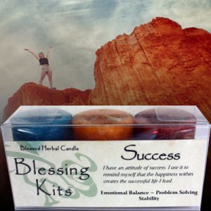 Blessing Kits (Blessed Herbal Candles)
