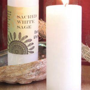 World Magic Pillar Candles